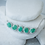 Thumbnail: Emerald & White Zircon Necklace