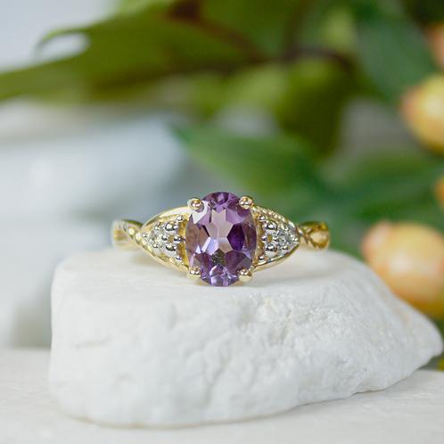 Aletha Amethyst Ring