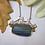 Thumbnail: Rectangle Leland Blue Bridge Necklace