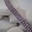 Thumbnail: 3-Strand Amethyst Bracelet