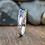 Thumbnail: Women's Sterling Silver Mackinac Bridge Ring
