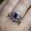 Thumbnail: Estelle Sapphire & Diamond Ring