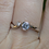 Thumbnail: White Topaz Ring by A. Neal