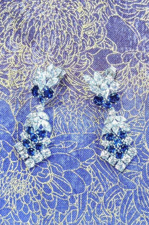 Melino Sterling Silver CZ Earrings