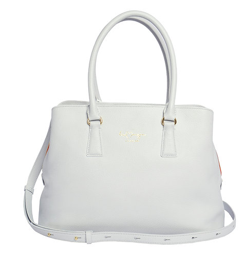 Grace Tote | Ice White