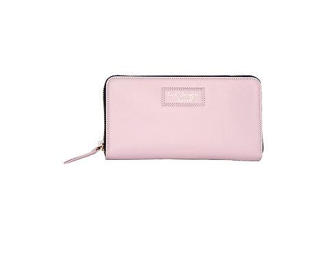 Rachel Zip Wallet | Pale Pink