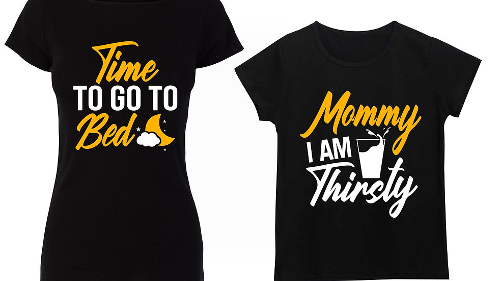 Mommy and Me (Time to go to be ) (Mommy I am Thirsty)