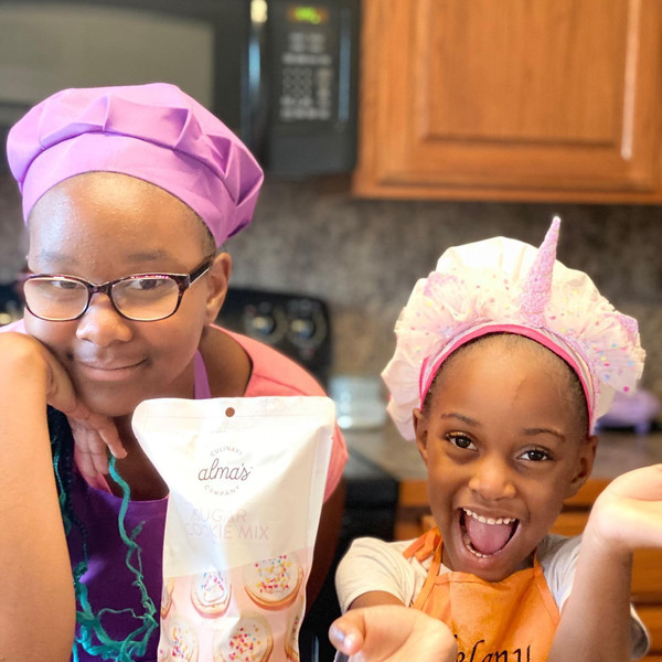 Sugar Cookies with Cousin