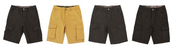 Men Short Camouflage and Pure Color Collection 2