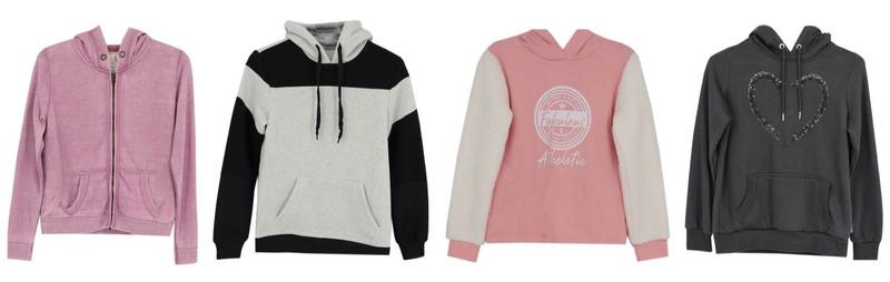 ladies hoodie original collection 1 crop