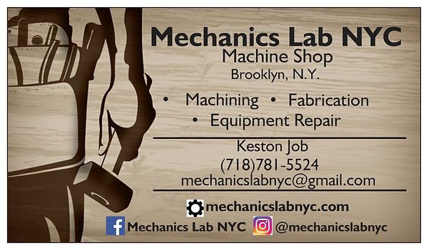 MechanicsLabNYC machine shop modification fabrication repair service