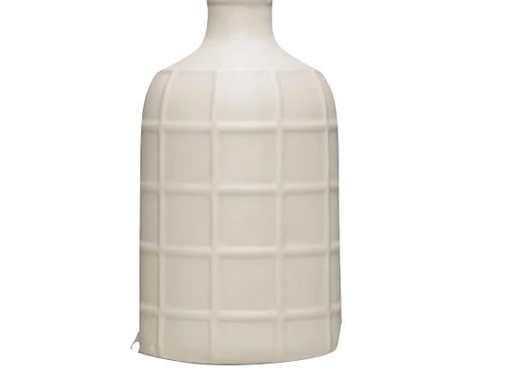 Light Grey Stoneware Vase
