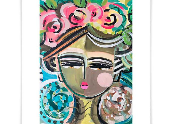 She Is Fierce, Havana, Art Print