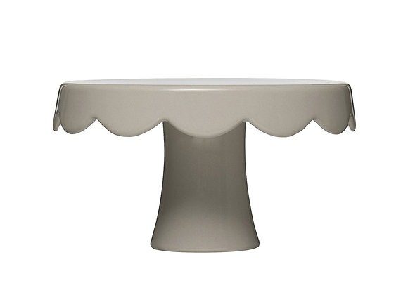 Scalloped Cake Pedestal