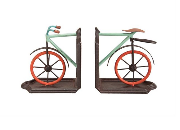 Bicycle Book Ends, S/2