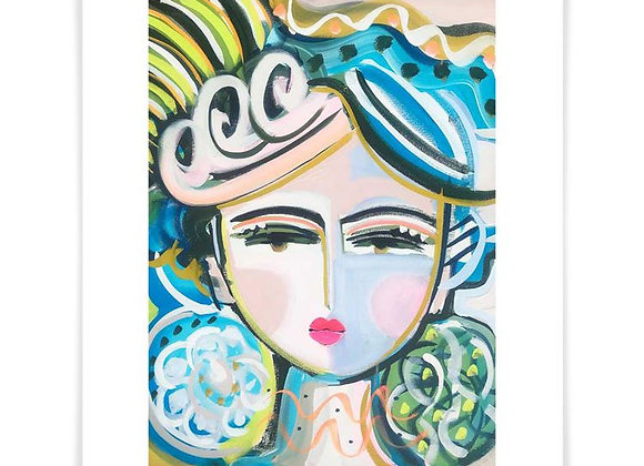 She Is Fierce, Vivi, Art Print