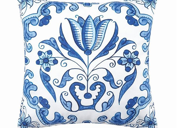 Delft Garden Pillow