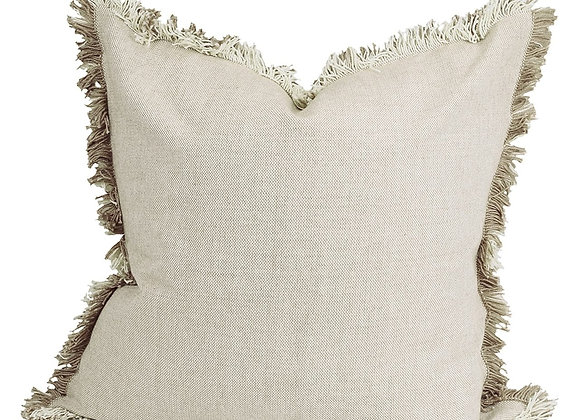 Heidi Taupe Pillow Cover
