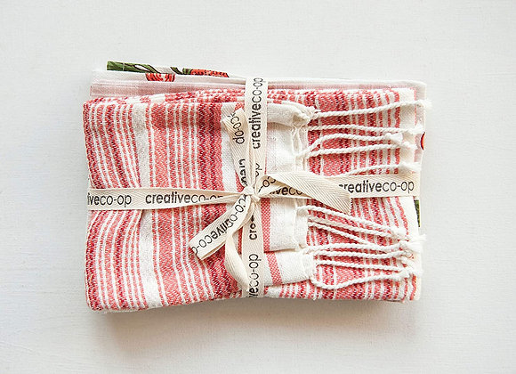Radish Tea Towel, S/3