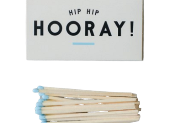 """Hip Hip Hooray"" Matchbook"