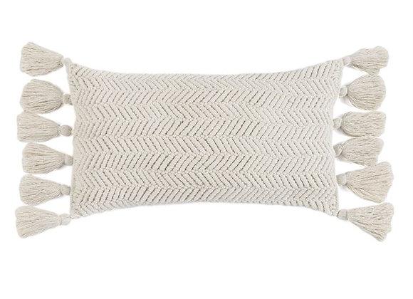 Ivory Samara Pillow