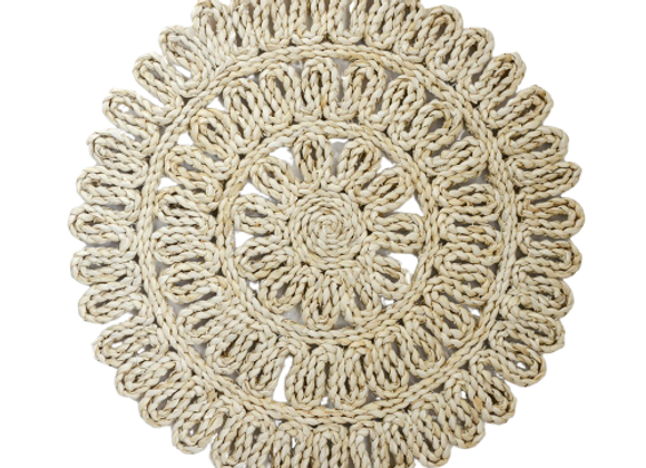 Woven Straw Placemat
