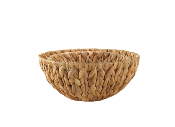 Hyacinth Serving Basket Small