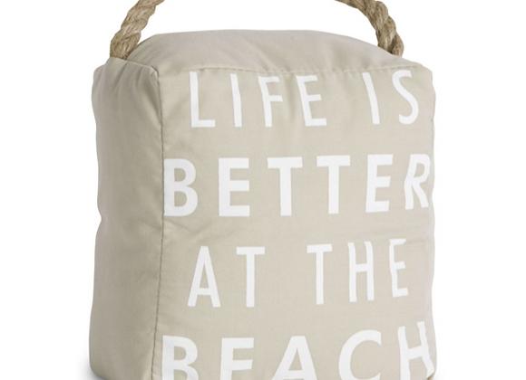 """""""At the Beach"""" Door Stop"""
