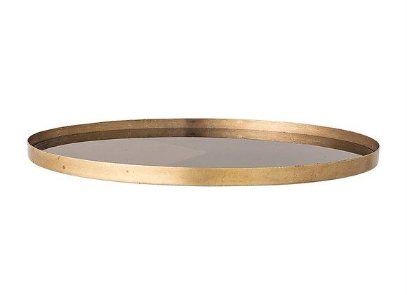 Round Antique Copper Tray