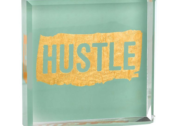 """Hustle"" Paperweight"