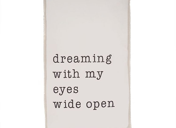 """""""Dreaming"""" Canvas Wall Hanging"""