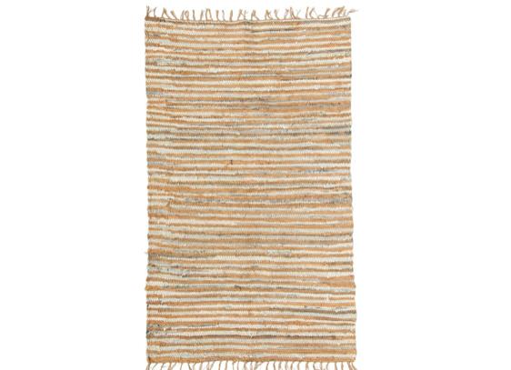 Striped Chindi Fringe Rug