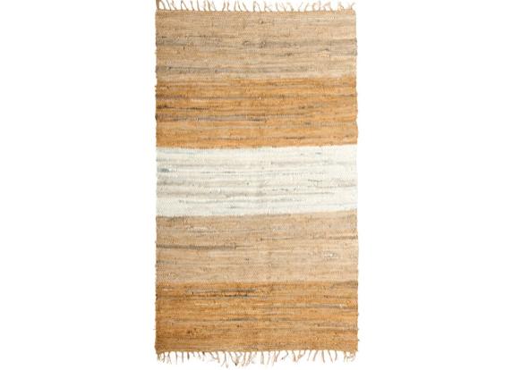 Color Block Chindi Fringe Rug
