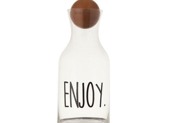 """""""Enjoy"""" Decanter"""