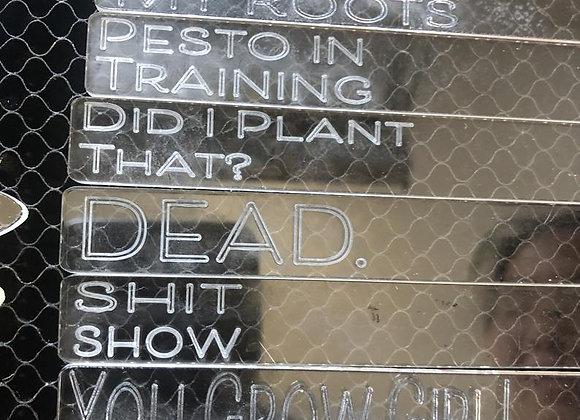 Acrylic Plant Marker