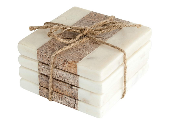 Marble Coasters, S/4