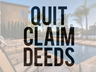 9 Most Effective Ways to Use A Quit Claim Deed to Handle Common Personal and Business Transactions.