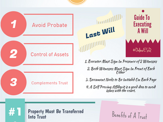 Trusts v. Wills an Infograph created by Estate Planning Law Office In Orlando!