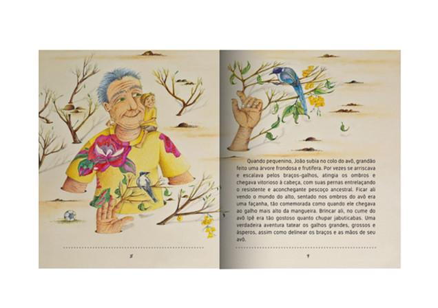 Livro infantil: Vovô Ipê
