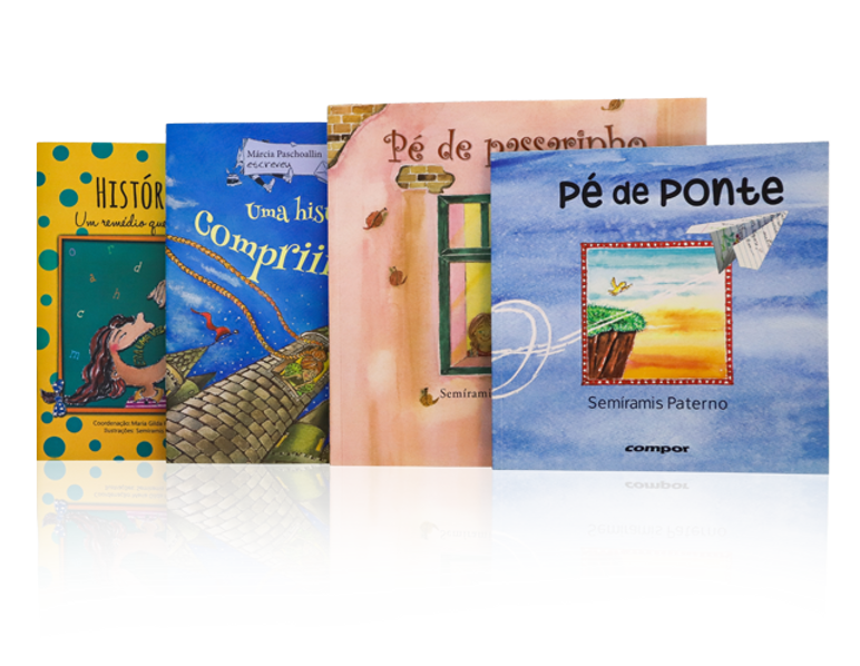 Livros ilustrados por Semi Paterno
