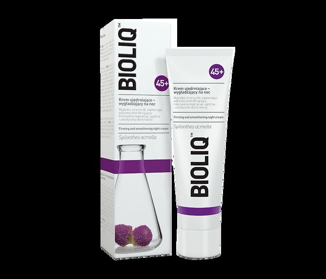 bioliq 45+ crema de noche reafirmante y suavizante.png