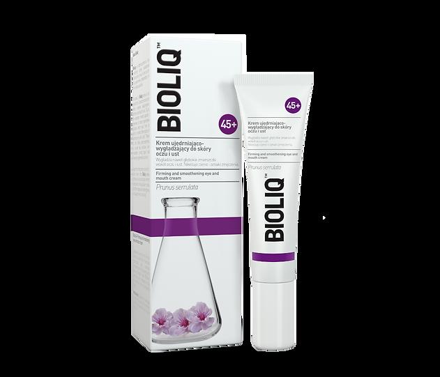 bioliq 45+ crema para ojos y labios reafirmante y suavizante.png