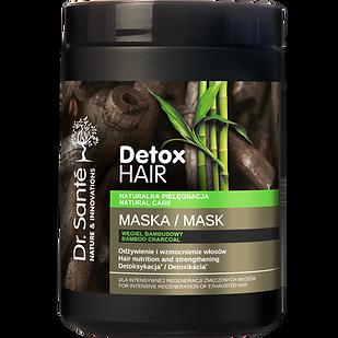 MASCARILLA carbón de bambú DETOX HAIR 10