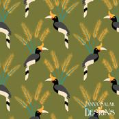 Great Hornbill Palm