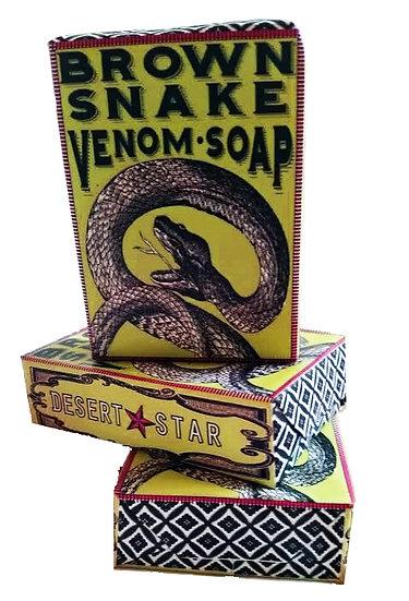 WHOLESALE Brown Snake Venom Soap 12 PK