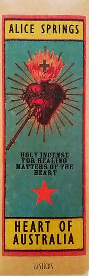 Heart of Australia Incense