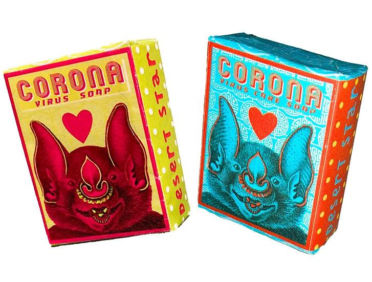 Corona Virus Twin Pack Soap