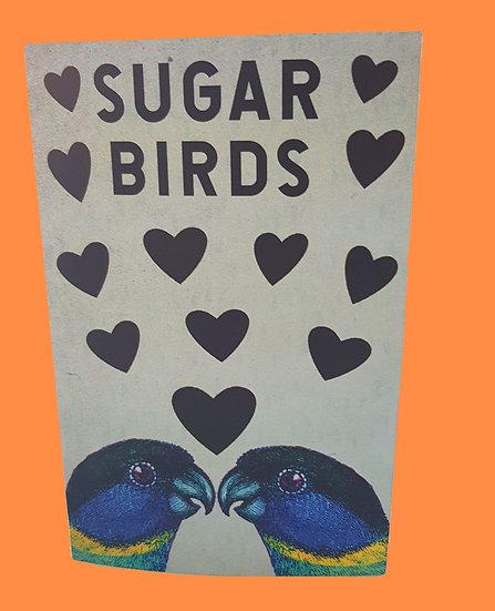 Sugar Birds card & envelope