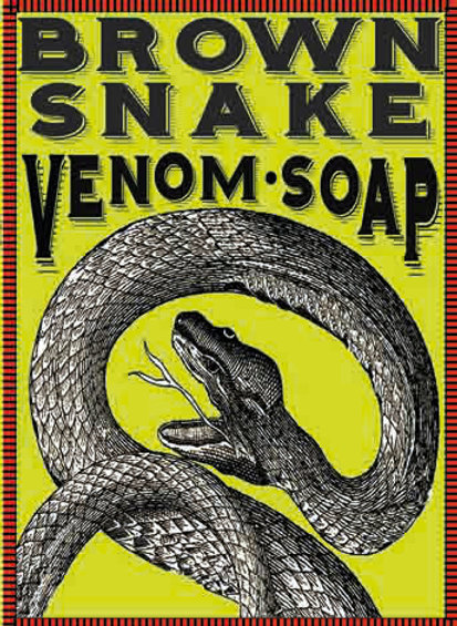 Brown Snake Venom Soap