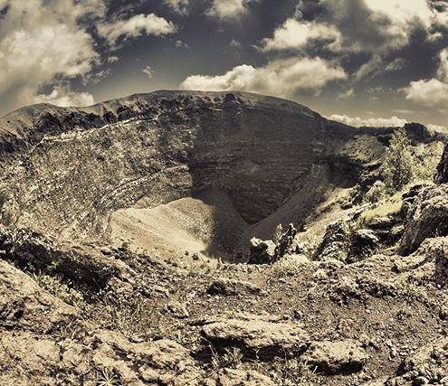 Il Vesuvio 🌋🇮🇹 #volcano #italy #pompe